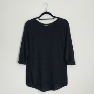 Nic+Zoe Black Long Sleeve Shirt